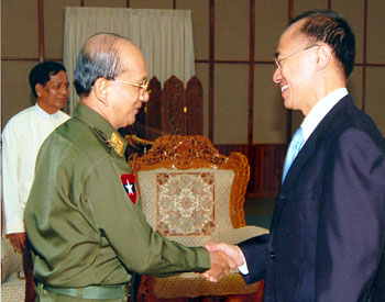 George Yeo with Thein Sein